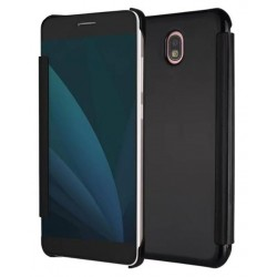 Black Ice View Cover For Samsung Galaxy J3 (2017)