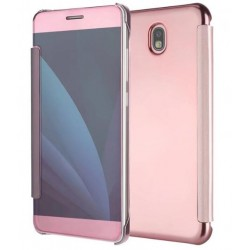 Pink Ice View Cover For Samsung Galaxy J3 (2017)