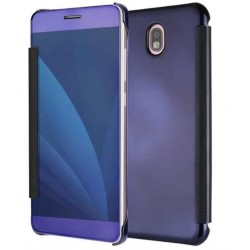 Etui Protection Ice View Cover Violet Pour Samsung Galaxy J3 (2017)