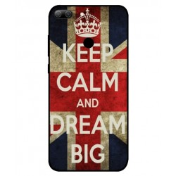 Huawei Honor 9 Lite Keep Calm And Dream Big Cover