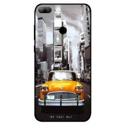 Coque New York Taxi Pour Huawei Honor 9 Lite