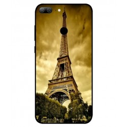 Coque Protection Tour Eiffel Pour Huawei Honor 9 Lite