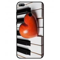 Coque I Love Piano pour Huawei Honor 9 Lite