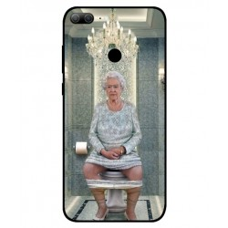 Huawei Honor 9 Lite Her Majesty Queen Elizabeth On The Toilet Cover