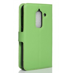Protection Etui Portefeuille Cuir Vert LeEco Le Max 2