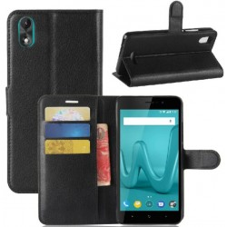 Wiko Lenny 4 Plus Black Wallet Case