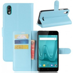 Wiko Lenny 4 Plus Blue Wallet Case