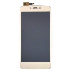Motorola Moto C Plus Complete Replacement Screen Gold Color