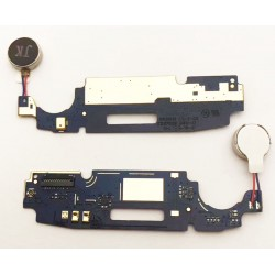 Dock Charging Audio Jack Connector And Microphone Flex Cable For Motorola Moto C Plus
