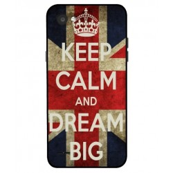 LG Q6 Keep Calm And Dream Big Cover
