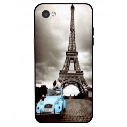 LG Q6 Vintage Eiffel Tower Case