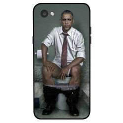 LG Q6 Obama On The Toilet Cover