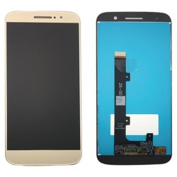 Motorola Moto M Complete Replacement Screen Gold Color