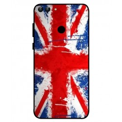 Coque UK Brush Pour Huawei P Smart