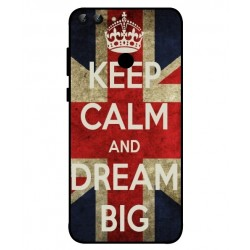 Huawei P Smart Keep Calm And Dream Big Cover