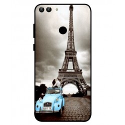 Huawei P Smart Vintage Eiffel Tower Case