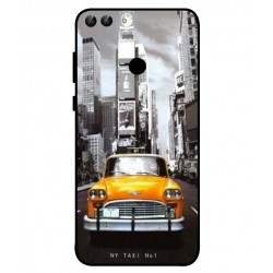 Coque New York Taxi Pour Huawei P Smart