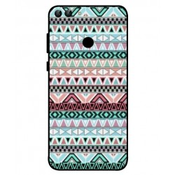 Coque Broderie Mexicaine Pour Huawei P Smart