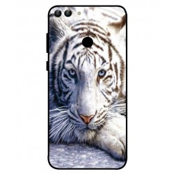 Huawei P Smart White Tiger Cover