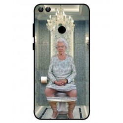Huawei P Smart Her Majesty Queen Elizabeth On The Toilet Cover