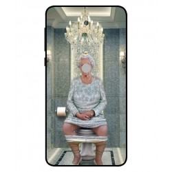 Nokia 6 2018 Her Majesty Queen Elizabeth On The Toilet Cover