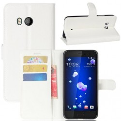 HTC U11 White Wallet Case