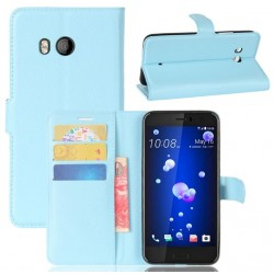 HTC U11 Blue Wallet Case