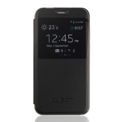 Etui Protection S-View Cover Noir Pour Cubot Manito