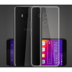 HTC U11 Plus Transparent Silicone Case