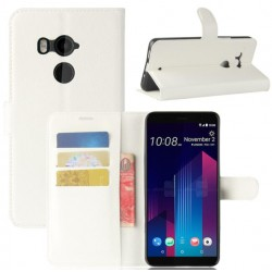 HTC U11 Plus White Wallet Case