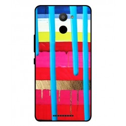 BQ Aquaris U Plus Brushstrokes Cover
