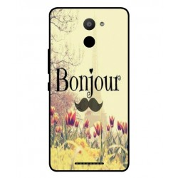 BQ Aquaris U Plus Hello Paris Cover
