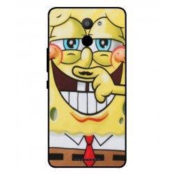 BQ Aquaris U Plus Yellow Friend Cover