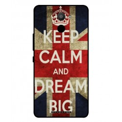 BQ Aquaris U Plus Keep Calm And Dream Big Cover