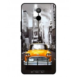BQ Aquaris U Plus New York Taxi Cover