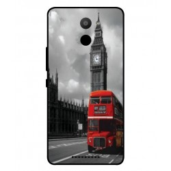 BQ Aquaris U Plus London Style Cover