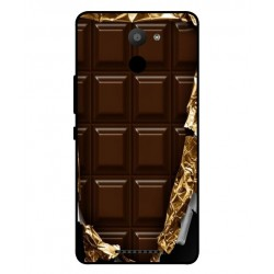 BQ Aquaris U Plus I Love Chocolate Cover