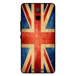 BQ Aquaris U Plus Vintage UK Case