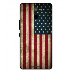 BQ Aquaris U Plus Vintage America Cover
