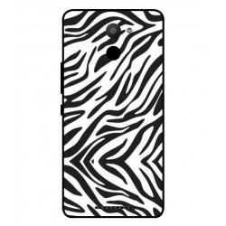 BQ Aquaris U Plus Zebra Case