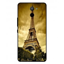 BQ Aquaris U Plus Eiffel Tower Case