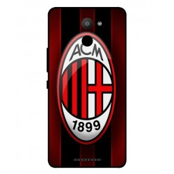 BQ Aquaris U Plus AC Milan Cover