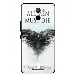 BQ Aquaris U Plus All Men Must Die Cover