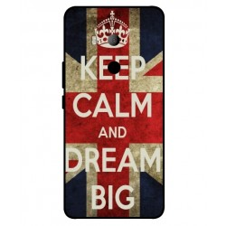 HTC U11 Eyes Keep Calm And Dream Big Cover