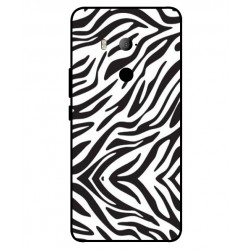 HTC U11 Eyes Zebra Case