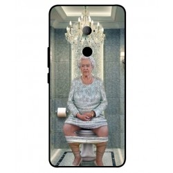 HTC U11 Eyes Her Majesty Queen Elizabeth On The Toilet Cover