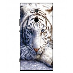 Sony Xperia XA2 Ultra White Tiger Cover