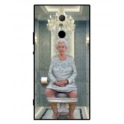 Sony Xperia XA2 Ultra Her Majesty Queen Elizabeth On The Toilet Cover