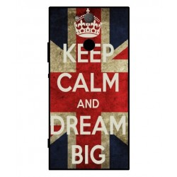 Coque Keep Calm And Dream Big Pour Sony Xperia XA2
