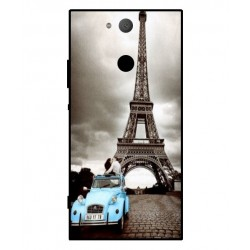Sony Xperia XA2 Vintage Eiffel Tower Case